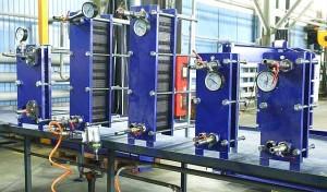 Пластинчатые теплообменники Ридан – производственные испытания на соответствие заявленным характеристикам