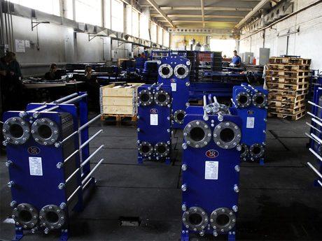Сборочный цех по производству теплообменников Ридан - фото